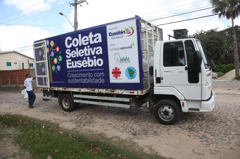 Prefeitura de Eusébio amplia serviço de coleta seletiva a partir de fevereiro