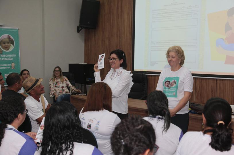Agentes de Saúde e de Endemias se engajam na campanha pelo Registro Civil no Eusébio