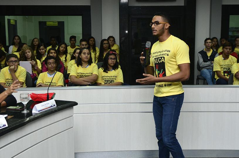 Eusébio cumpre 'Desafio 7' do Selo Unicef e realiza Encontro do NUCA