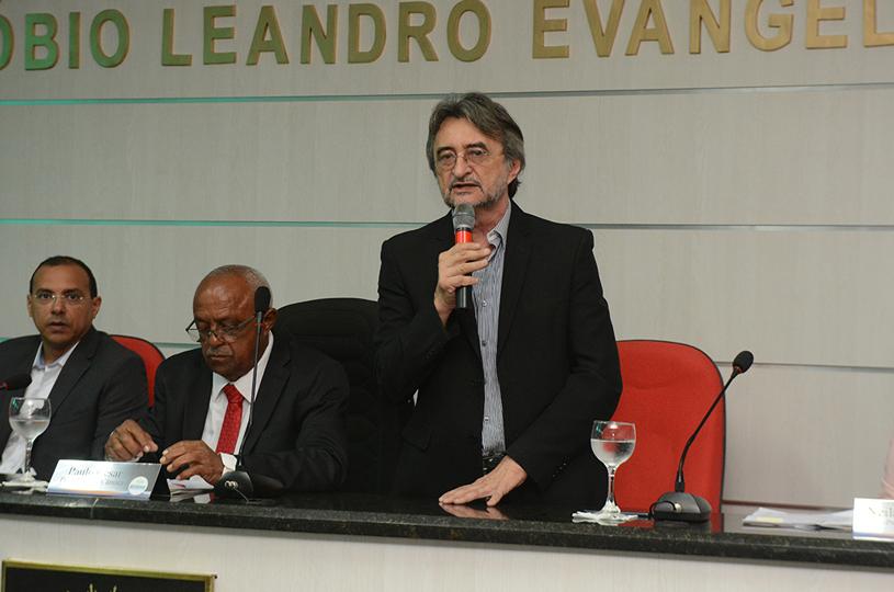 Acilon participa da abertura dos trabalhos da Câmara Municipal