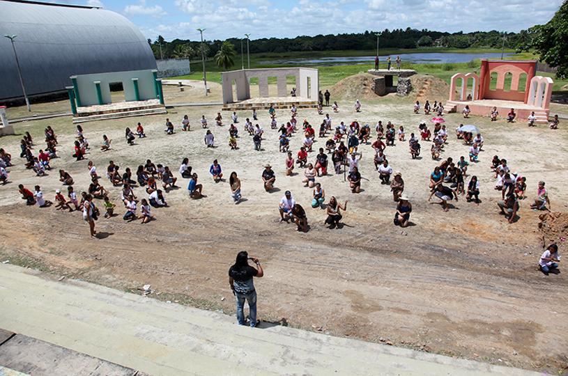 Cultura realiza primeiro ensaio da Paixão de Cristo do Eusébio de 2019