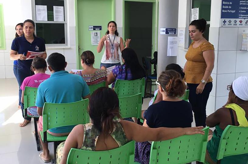 NASF Timbu realiza mobilização nas Unidades de Saúde contra o mosquito Aedes Aegypti