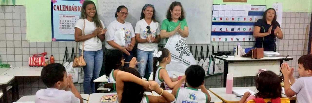 AMMA implanta coleta seletiva nas escolas municipais