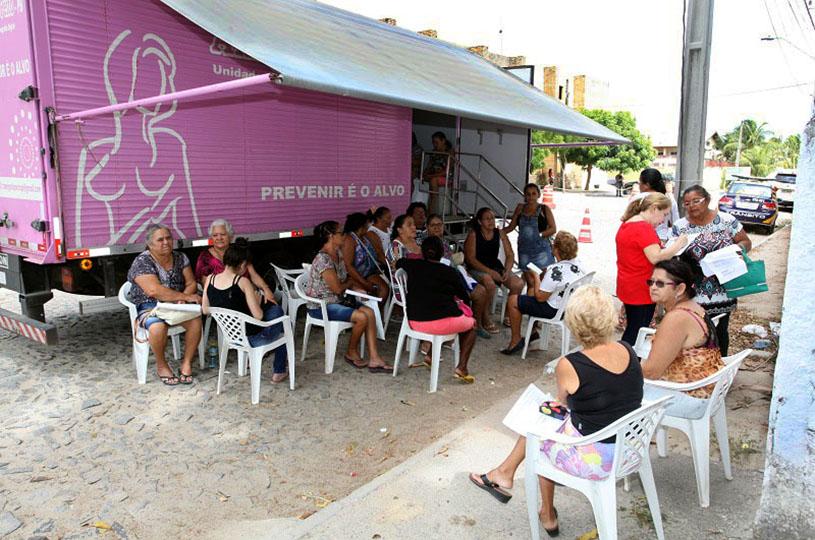 Prefeitura de Eusébio realiza mutirão de Mamografias de 8 a 12 de abril