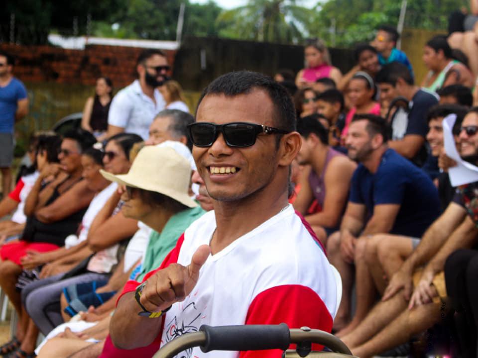 Eusébio promove inclusão social ao abrir espaço para participação de deficientes e idosos na Paixão de Cristo 2019