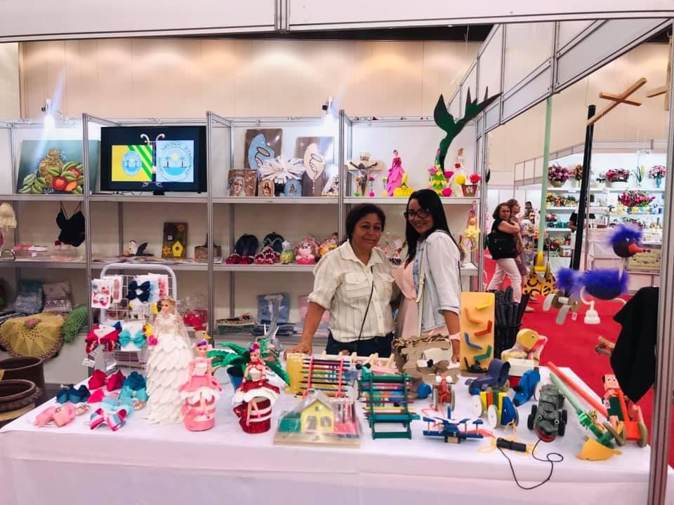 Eusébio participa da Feira Nacional de Artesanato e Cultura no Ceará