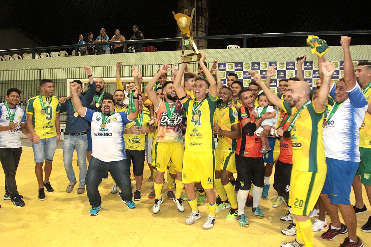Sport Club Eusébio é campeão  da Copa Estado do Ceará