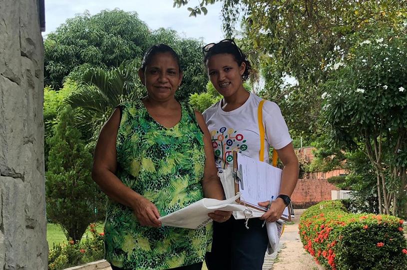 Ampliação da Coleta Seletiva de Eusébio chega ao bairro Amador