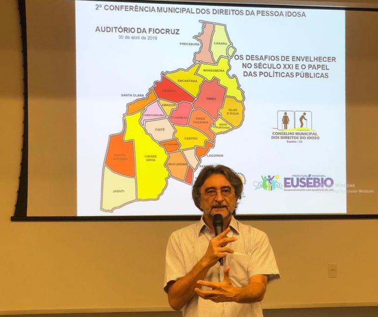 Eusébio realiza a II Conferência Municipal dos Direitos do Idoso