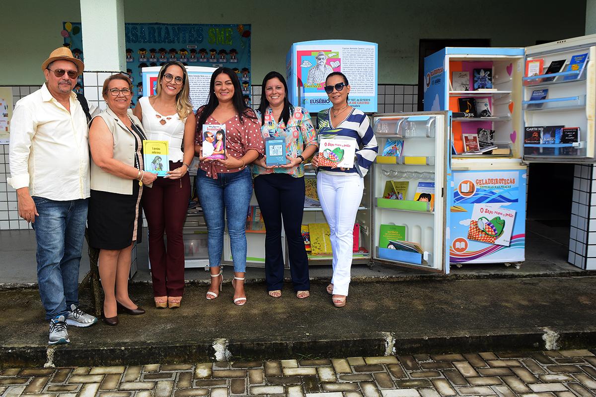 Prefeitura de Eusébio lança  o projeto Geladeirotecas