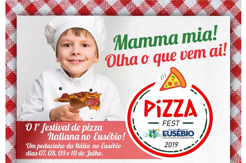 Eusébio realiza 1º Festival de Pizza italiana no mês de julho