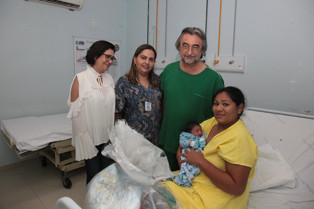 Nasce o Bebê Majestade  do Eusébio de 2019
