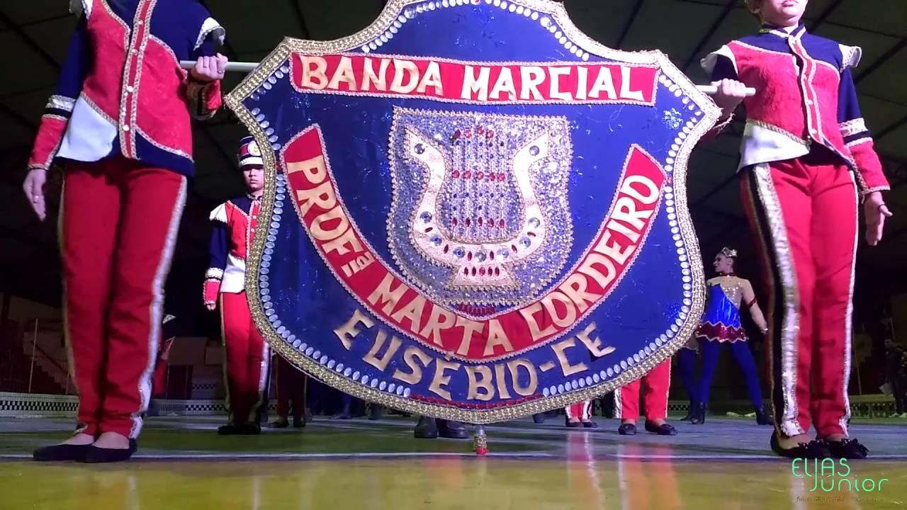 Banda Marcial Professora Marta Cordeiro está com inscrições abertas para novatos e veteranos
