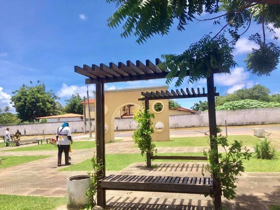 AMMA realiza limpeza e manutenção de 21 praças neste mês de maio