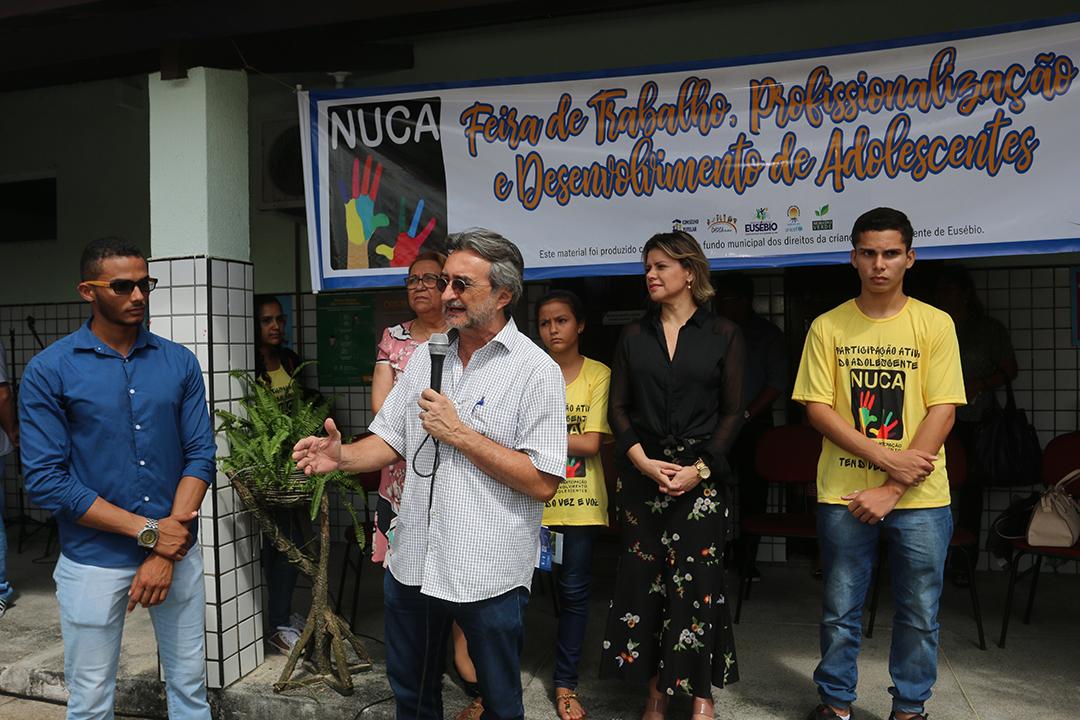 NUCA realiza Feira sobre Trabalho, Profissionalização e Desenvolvimento de Eusébio