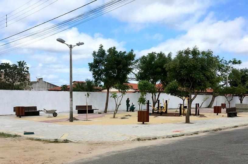 Prefeitura inaugura praça José Girão de Paulo, neste sábado, no Urucunema