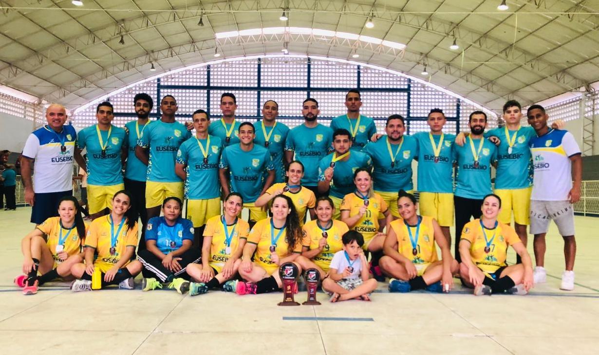 Handebol masculino do Sport Club Eusébio sagra-se campeão em torneio em Mossoró