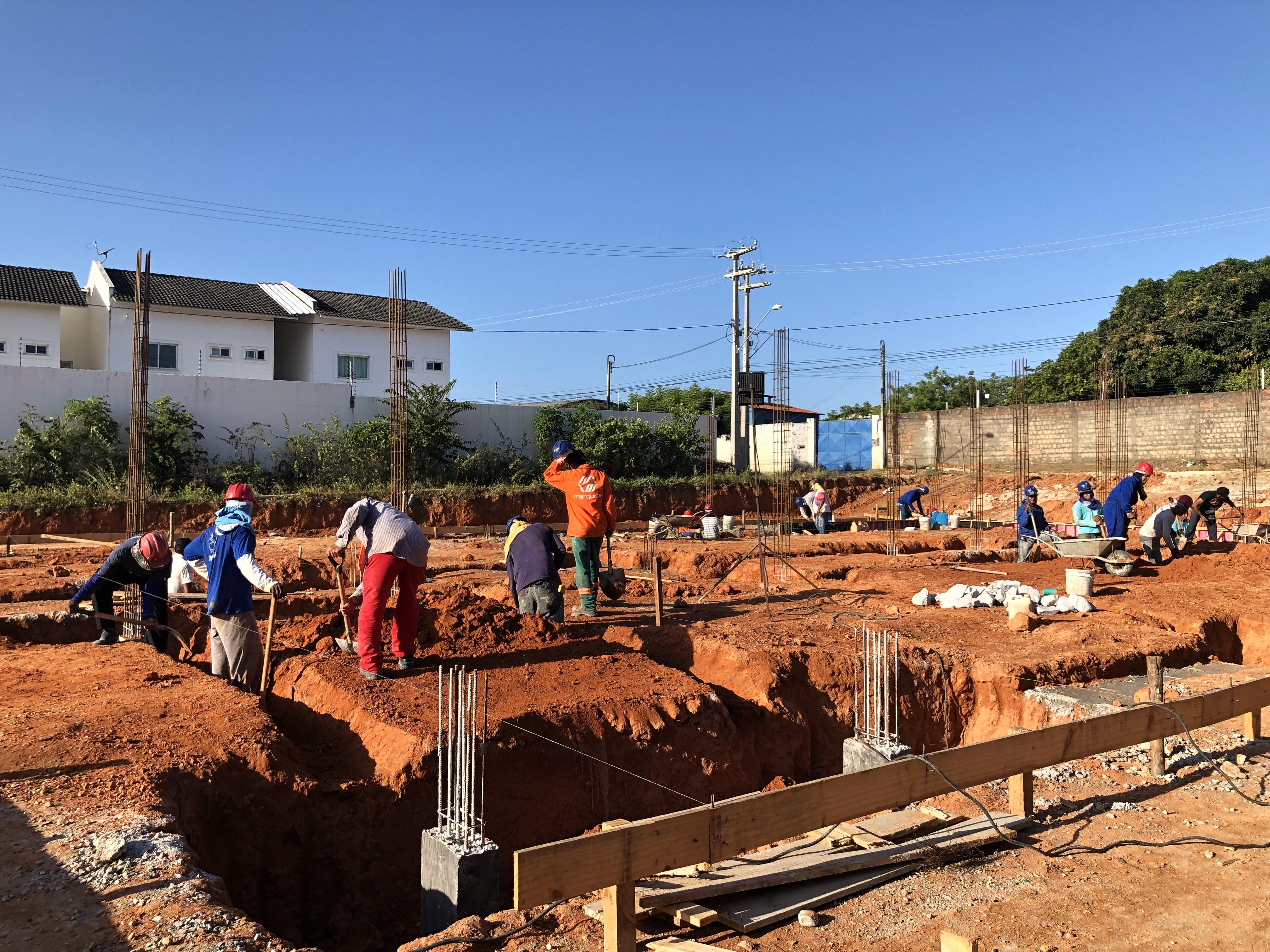Obras do CEI da Tamatanduba estão aceleradas