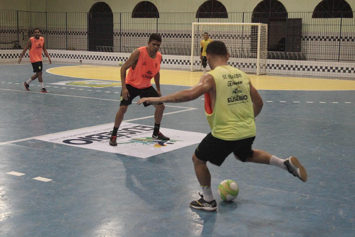 Sport Club Eusébio retoma treinamentos visando o segundo turno do Campeonato Cearense de Futsal