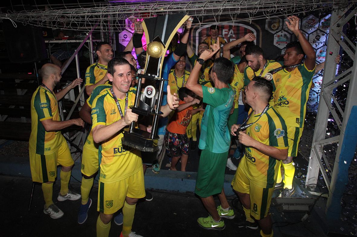 Sport Club Eusébio é campeão da Taça LFA Ceará 2019