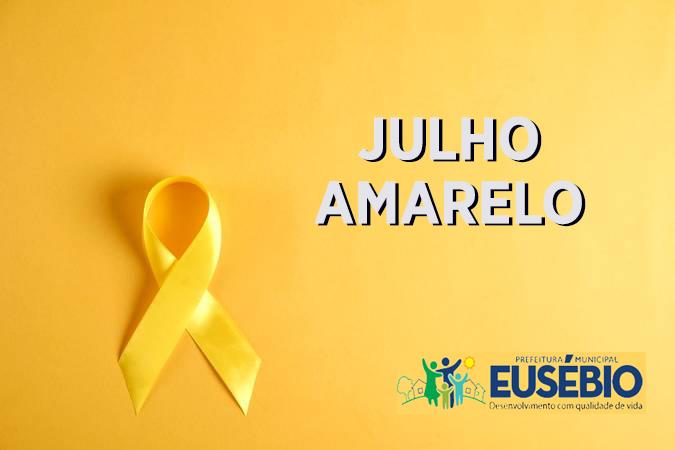 """Prefeitura de Eusébio realiza campanha """"julho amarelo"""" contra hepatites virais"""
