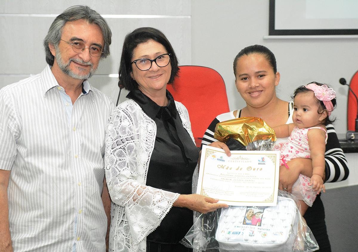 Eusébio encerra a campanha Agosto Dourado de incentivo ao aleitamento materno