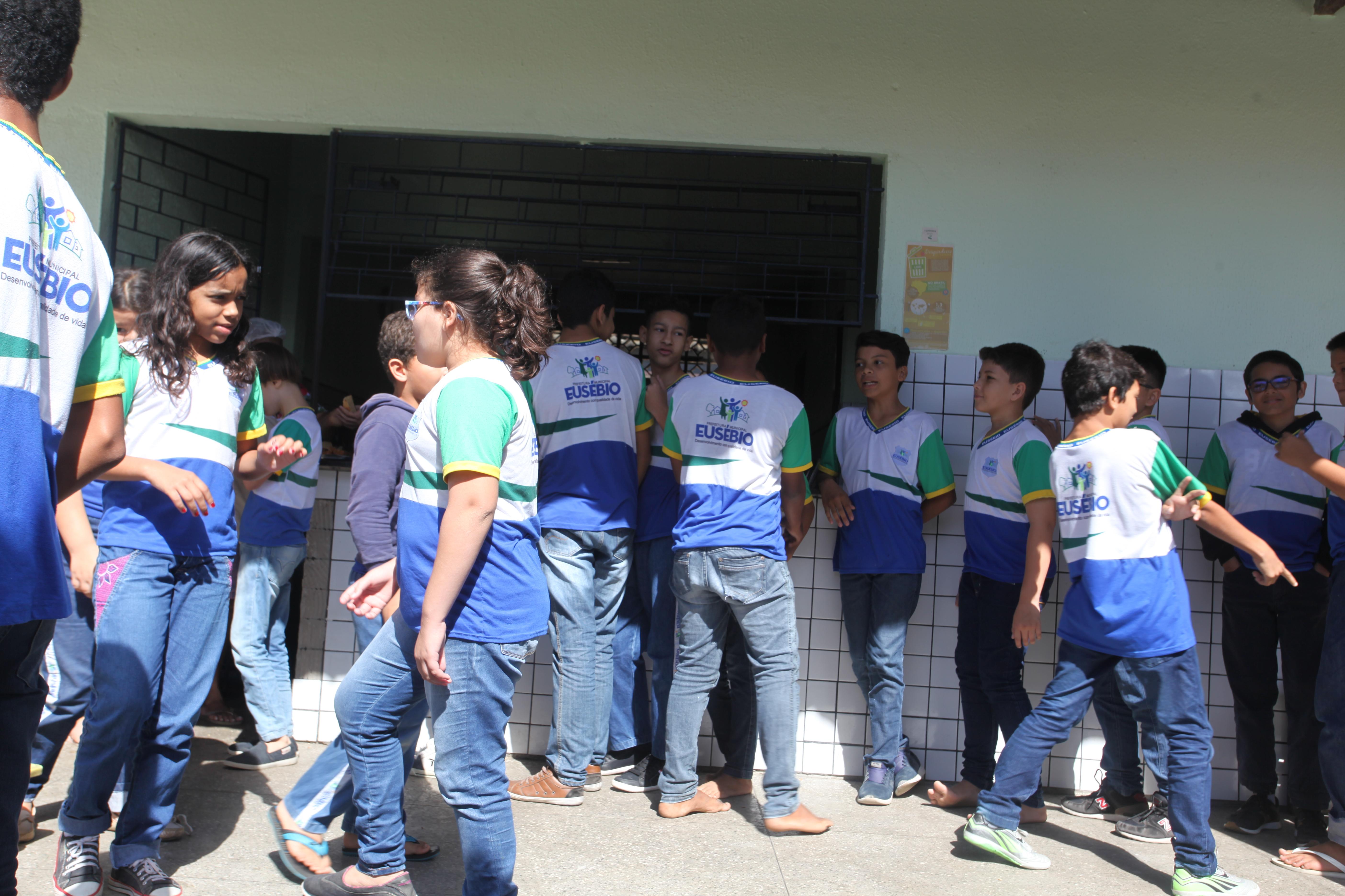Eusébio inicia o Tempo Integral no dia 12 para turmas do infantil, 1º, 2º, 5º e 9º ano