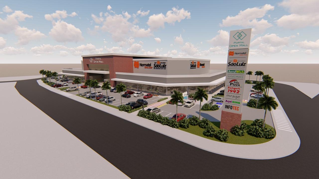 Eusébio ganhará novo Open Mall que terá Mercadinho São Luiz e Normatel como âncoras