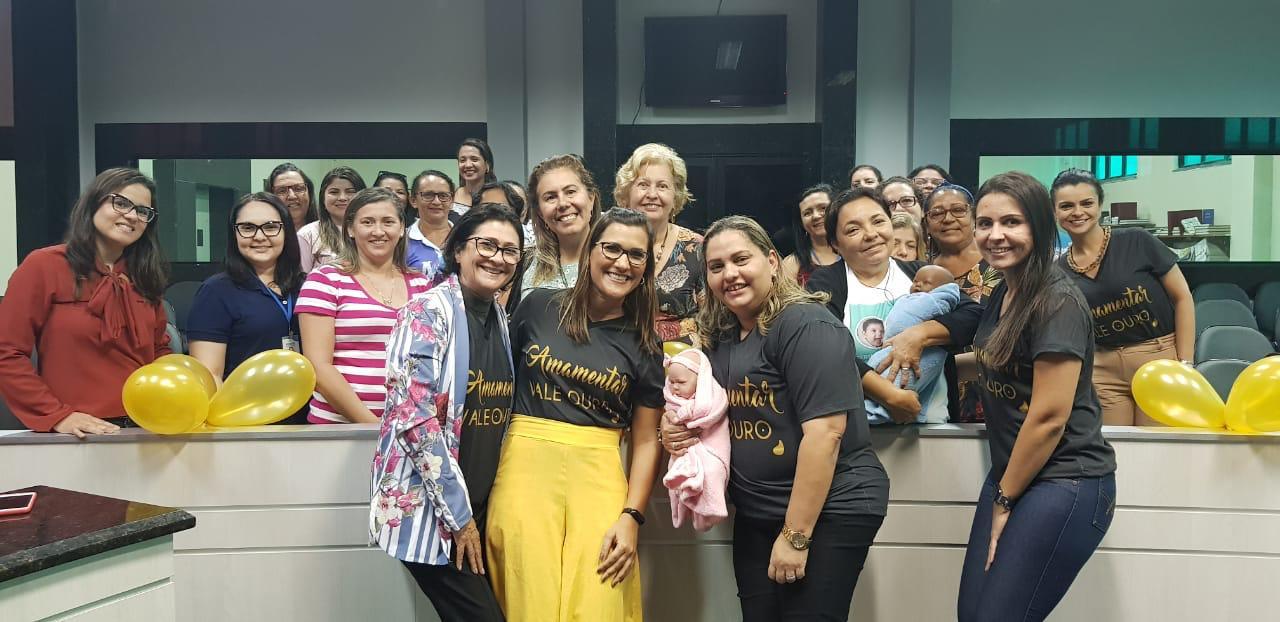 Prefeitura de Eusébio dissemina a importância da amamentação através do Agosto Dourado