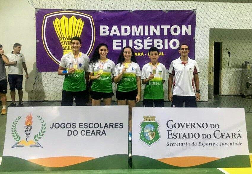 Atletas de Eusébio representam o Ceará na fase Nacional dos Jogos da Juventude
