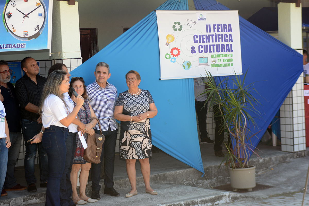 Escolas Paulo Sá e Eduardo Alves representarão o  Eusébio na Fase Regional da Feira Científica e Cultural