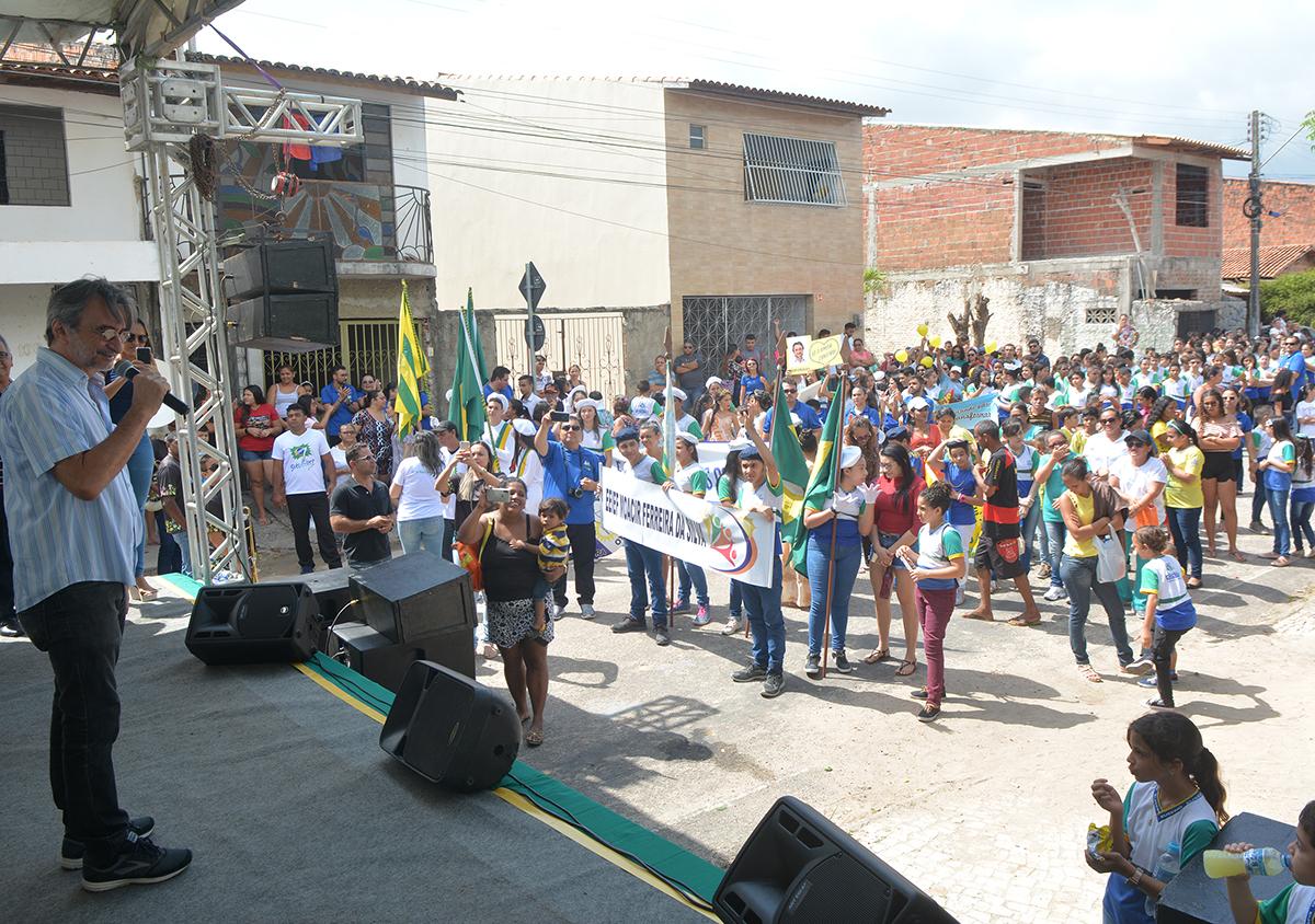 Eusébio abre comemorações da Semana da Pátria com desfiles cívicos no Santo Antônio e Jabuti