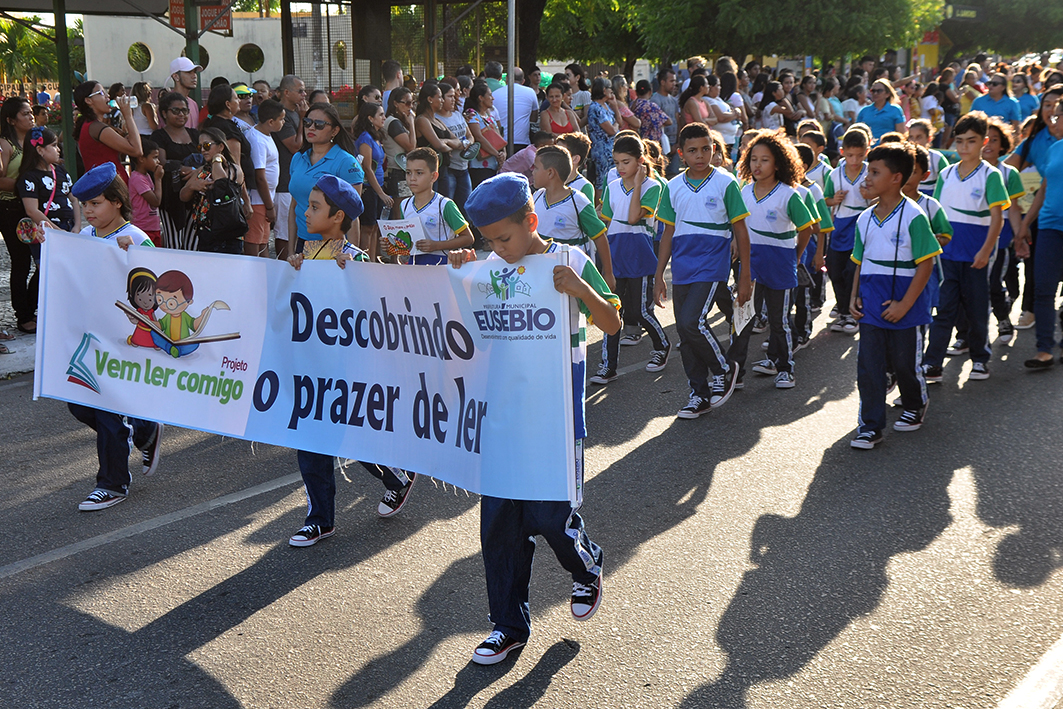 Eusébio comemora a Semana da Pátria 2019