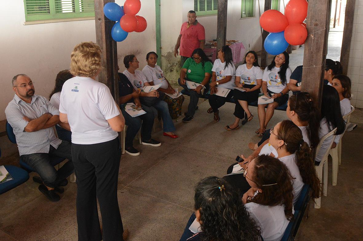 Eusébio implanta a estratégia Amamenta e Alimenta Brasil na Unidade Básica de Saúde da Lagoinha