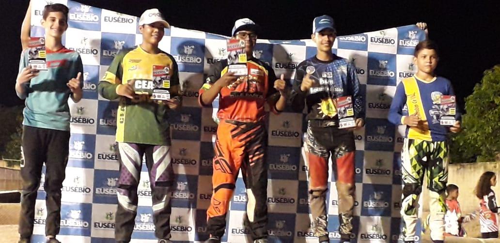 Eusébio vence segunda etapa do Campeonato Cearense de Bicicross na categoria 17 a 29 anos