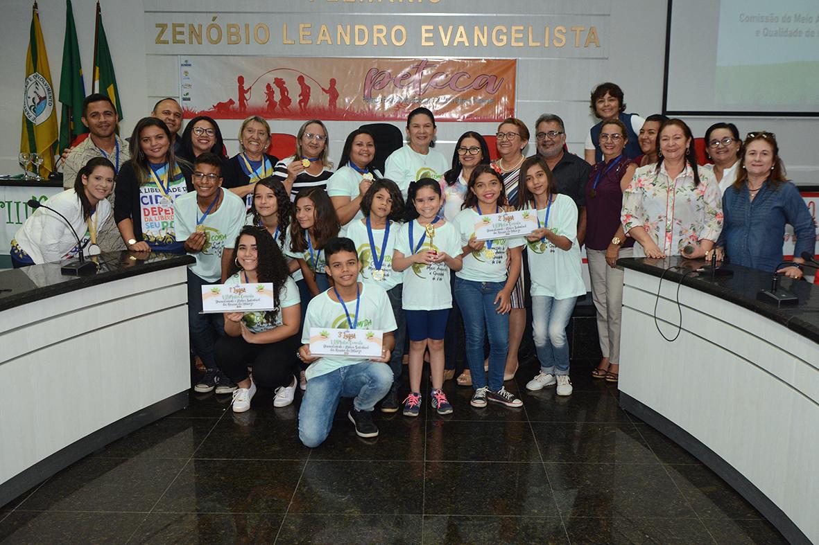 Eusébio realiza certificação do Prêmio Peteca 2019  e premia vencedores da VIII Mostra Comvida