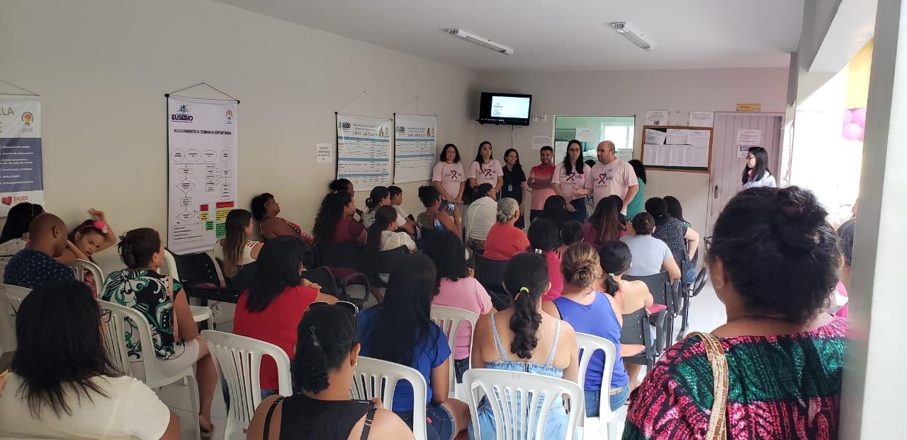 Programação do Outubro Rosa é realizada em todos os territórios de Saúde de Eusébio