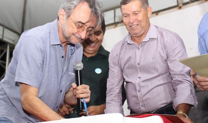 Prefeitura assina ordem de serviço para reforma da Praça da Lagoinha