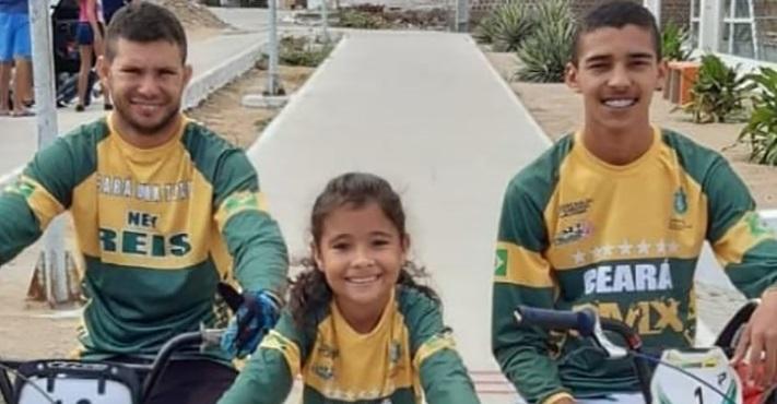 Atletas eusebienses são campeões do Nordeste Brasil de Bicicross