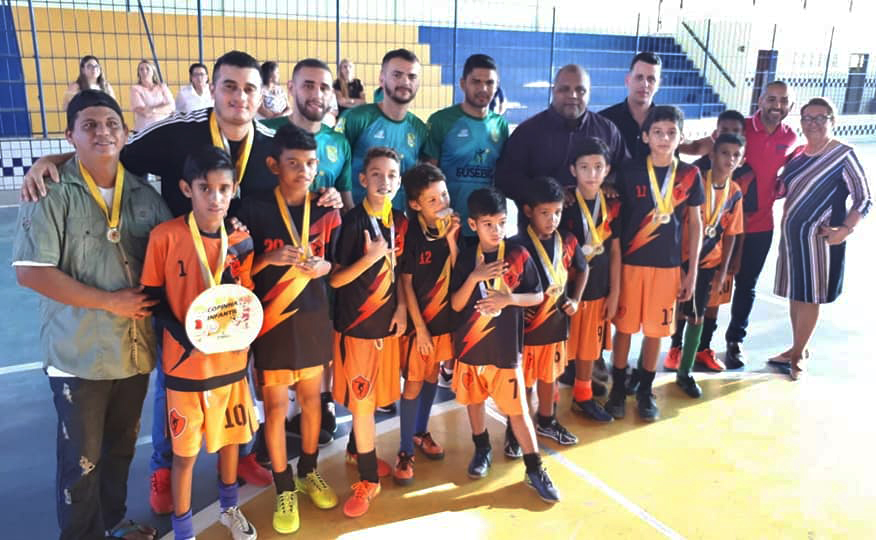 Eusébio conhece campeões da VI Copinha Infantil Inclusiva do Fundamental I