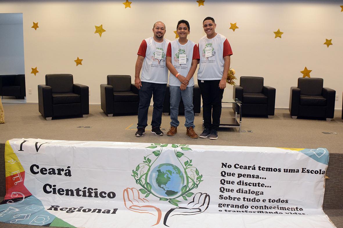 Escola Eduardo Alves Ramos é classificada para a etapa estadual do Ceará Cientifico
