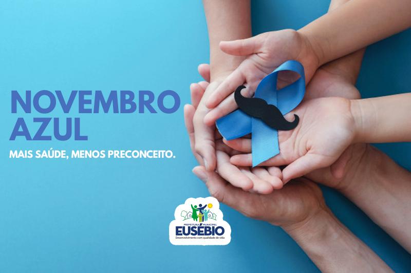 Prefeitura de Eusébio divulga programação do Novembro Azul