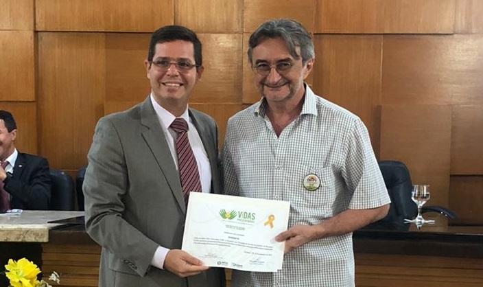 Eusébio recebe certificação por adesão ao projeto Vidas Preservadas