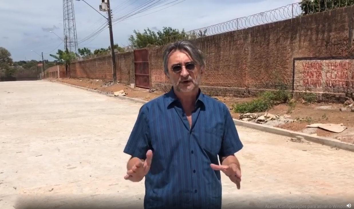 Prefeito anuncia posto de saúde, creche e uma praça para o bairro Santa Clara em 2020