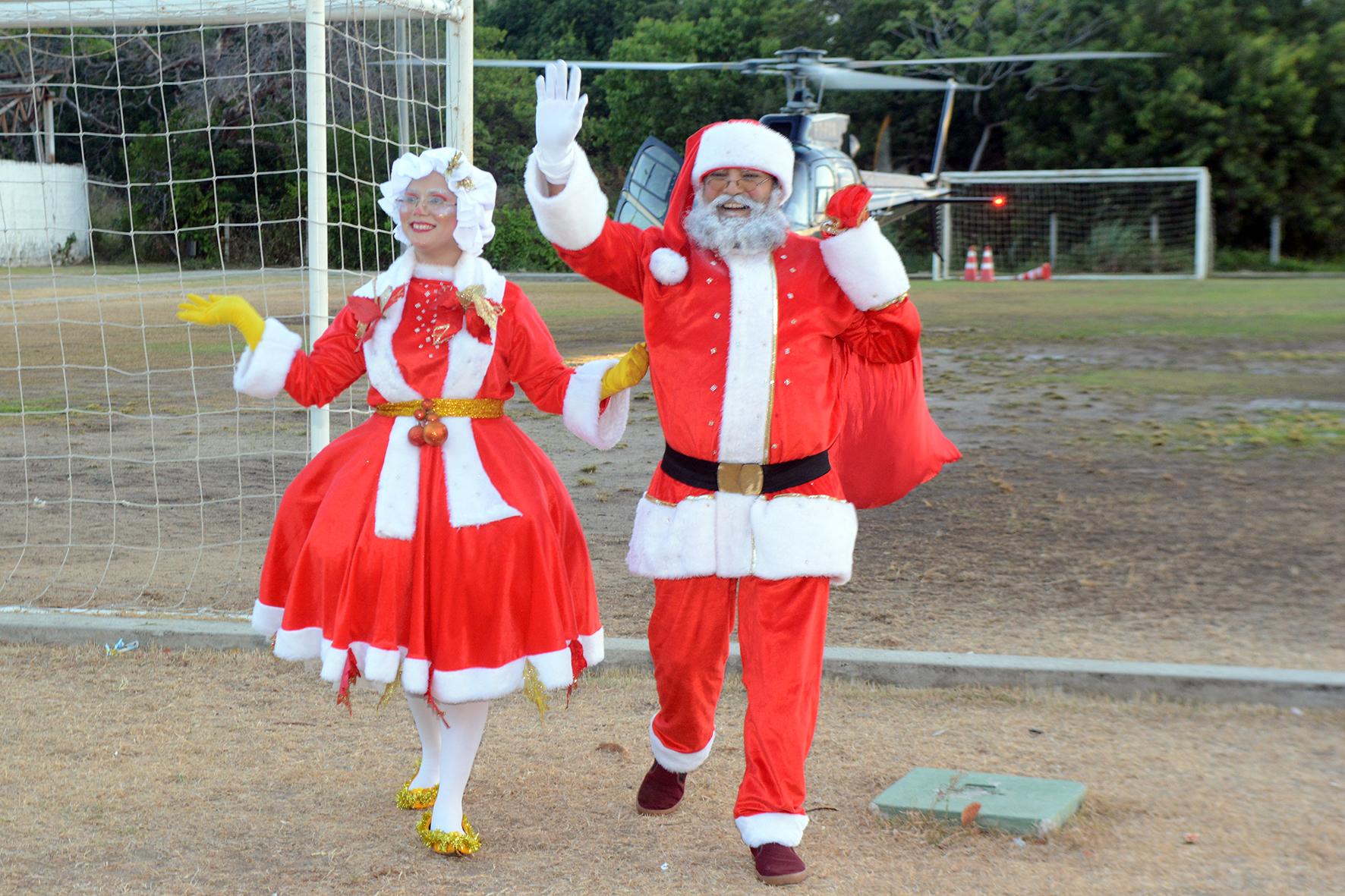 Eusébio realiza Natal de Paz trazendo uma mensagem de amor e solidariedade