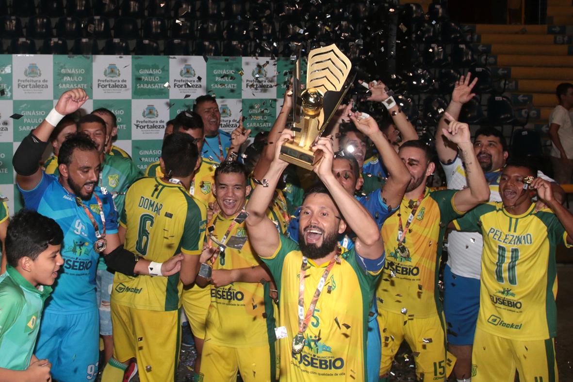 Sport Club Eusébio conclui temporada vitoriosa de 2019 com mais um título