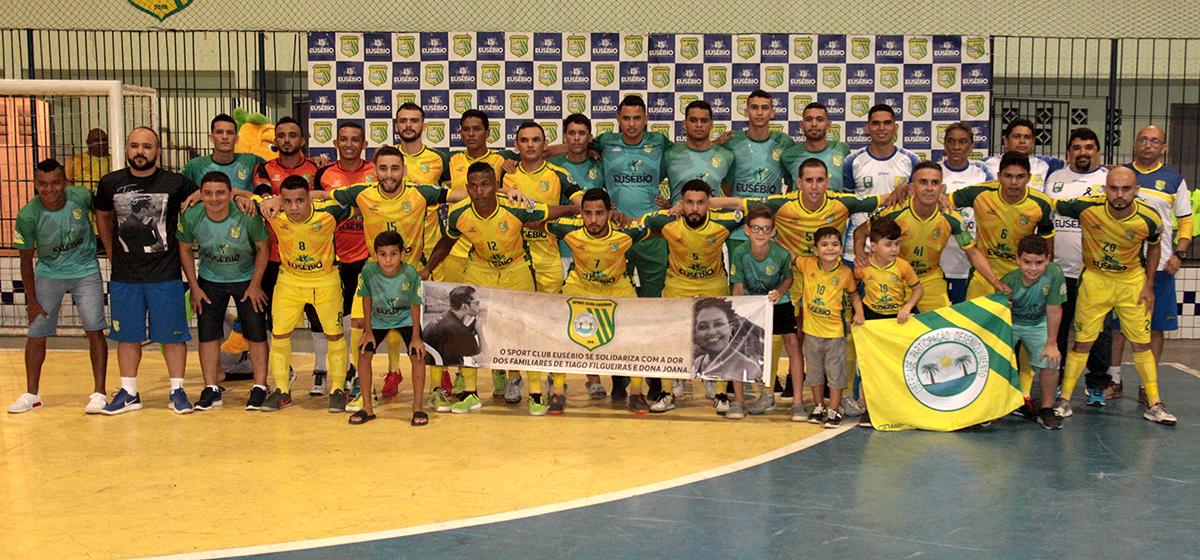 Sport Club Eusébio inicia campanha em busca do bicampeonato da Copa Estado do Ceará