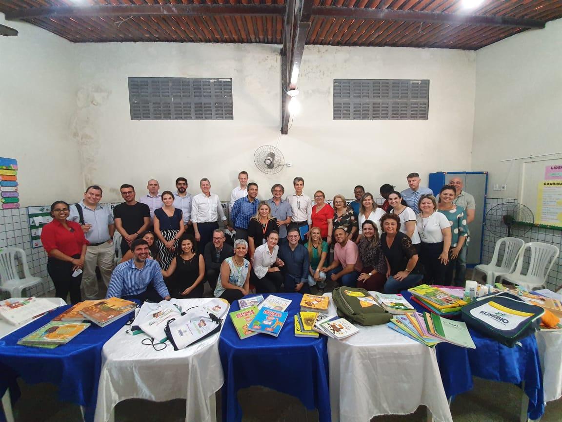 Referência em educação: Eusébio recebe visita de técnicos do Banco Mundial