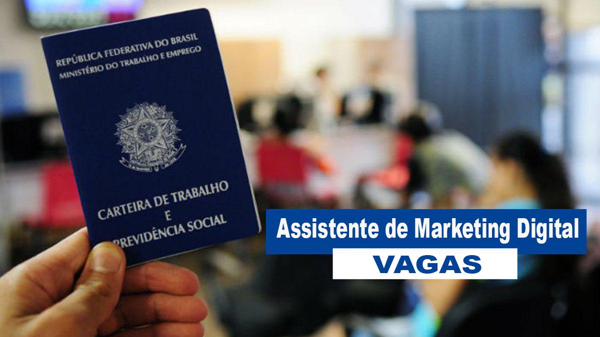 Sine/Eusébio anuncia vagas para assistente de marketing digital para ocupação imediata