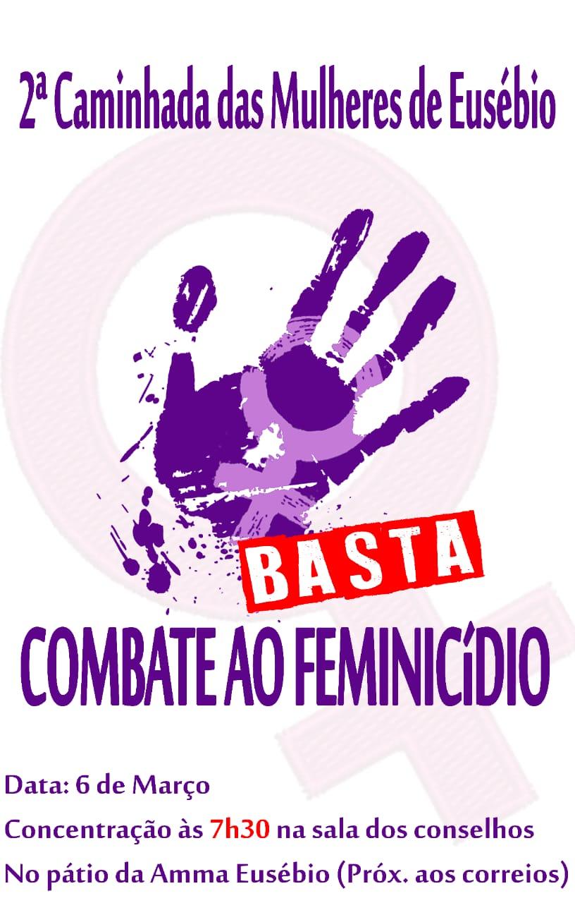 Eusébio abre comemorações do Dia da Mulher com uma caminhada nesta sexta-feira